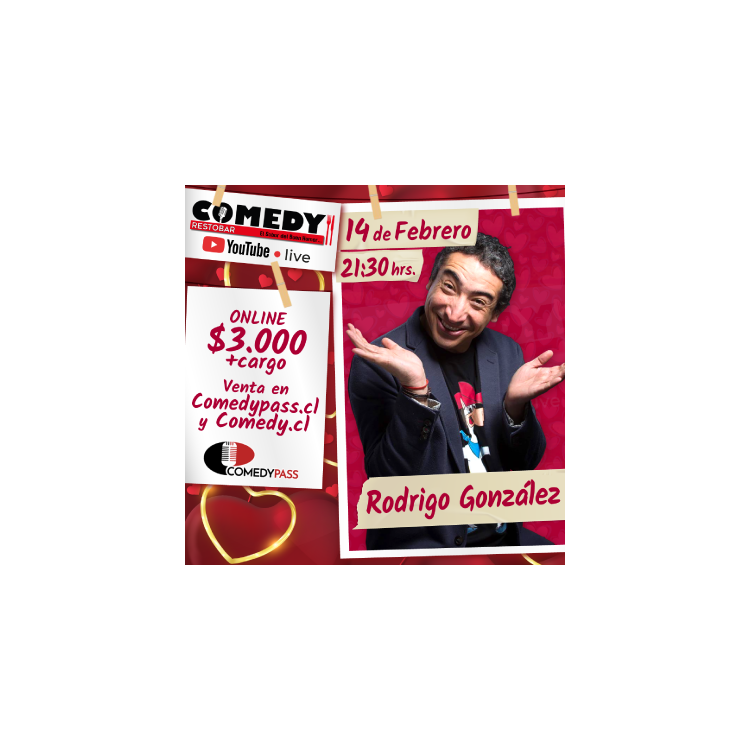 Rodrigo González - Comedia online