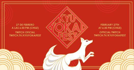 Kyu Yokai Fest: Festival Oriental - Online
