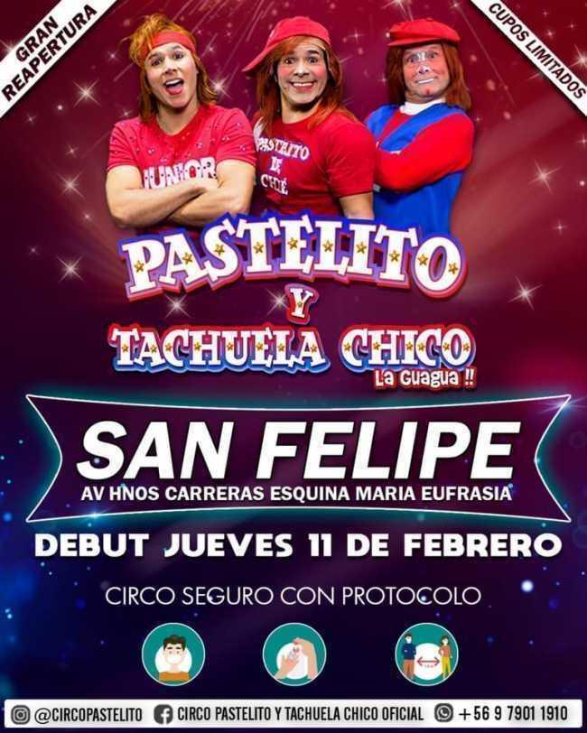 Circo de Pastelito y Tachuela Chico - San Felipe