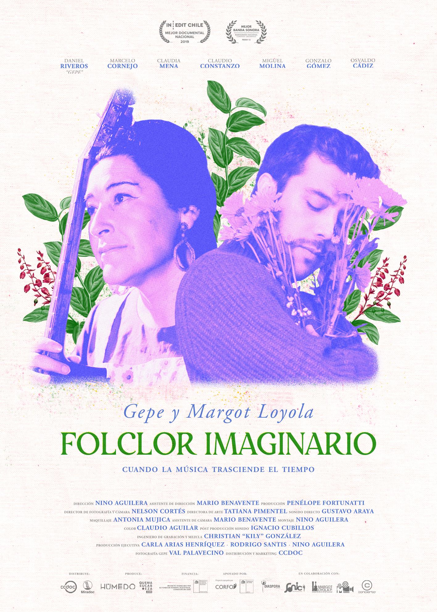 Gepe y Margot Loyola: Documental Folclor Imaginario . Online