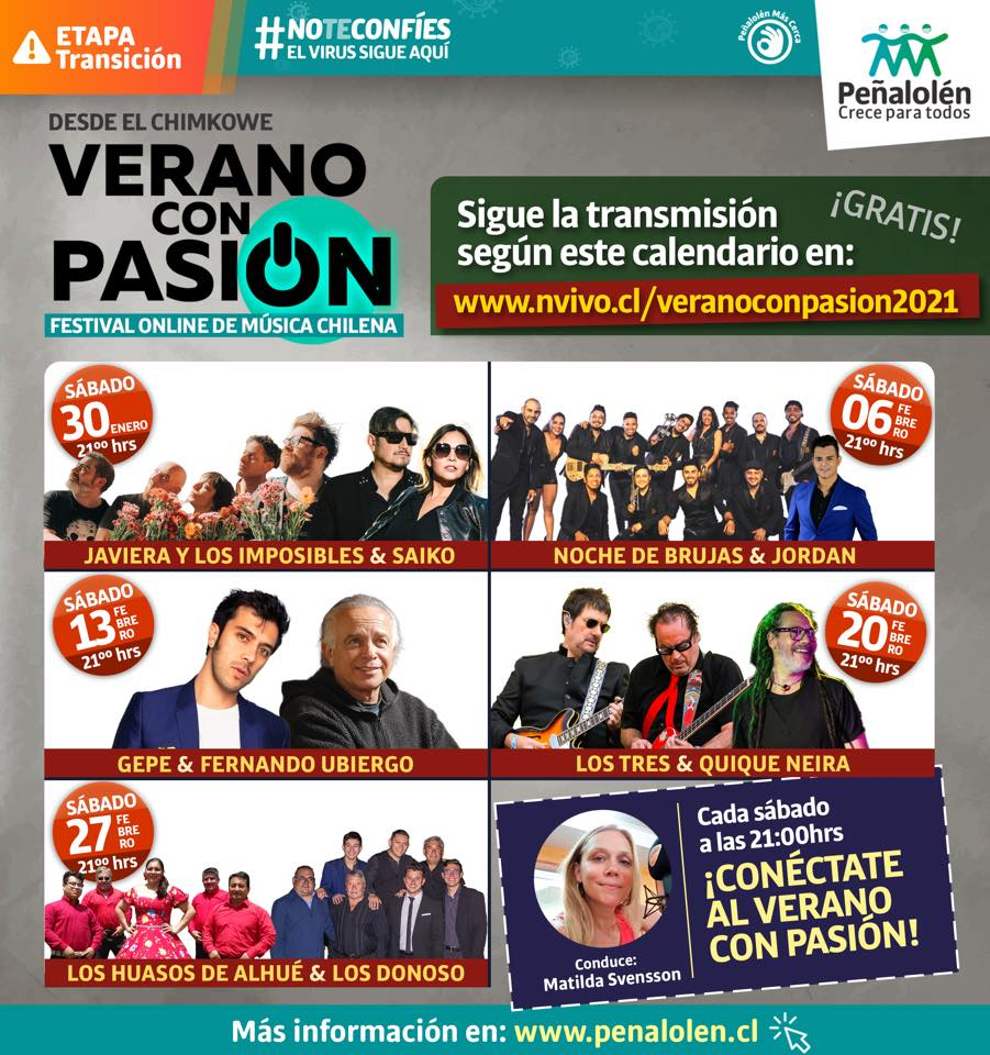 Festival Verano con pasión - Online