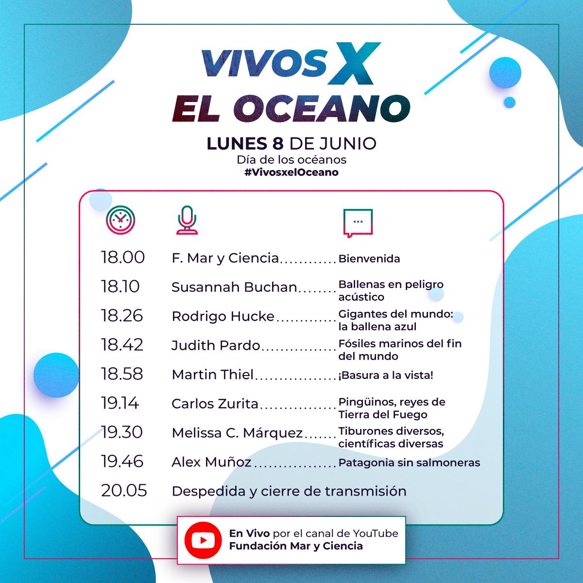 Vivos x el océano - online